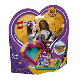 LEGO Friends - Cutia in forma de inima a Andreei 41354 pentru 6+