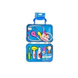 Trusa de doctor MalPlay in geanta portabila cu 9 accesorii doctor pentru copii