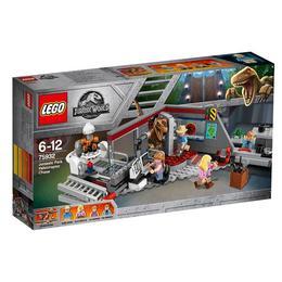 LEGO Jurassic World - Urmarirea Velociraptorului din Jurassic park 75932 pentru 6-12 ani