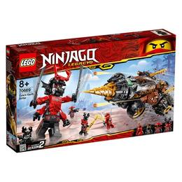 LEGO Ninjago - Foreza de pamant a lui Cole 70669 pentru 8+