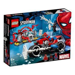 LEGO Super Heroes - Salvarea cu motocicleta lui Spider Man 76113 pentru 6+
