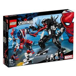 LEGO Super Heroes - Robotul paianjen contra Venom 76115 pentru 8+