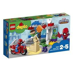 LEGO Duplo - Super Heroes Aventurile lui Spider-man & Hulk 10876 pentru 2-5 ani