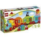 LEGO Duplo - Trenul cu numere 10847 pentru 1-3 ani