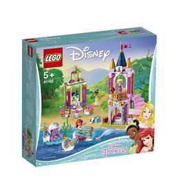 LEGO Disney Princess - Festivitatile regale ale lui Ariel, Aurora si Tiana 41162 pentru 5+