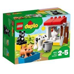 LEGO Duplo - Animalele de la ferma 10870 pentru 2-5 ani