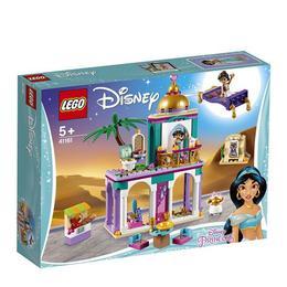 LEGO Disney Princess - Aventurile de la palat ale lui Aladdin si Jasmina 41161 pentru 5+