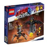 LEGO Movie - Batman & Barba metalica 70836 pentru 6+ ani