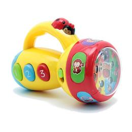 Jucarie interactiva bebelusi MalPlay Lanterna cu activitati,sunete si lumini