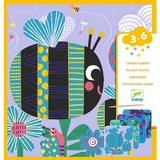 Set creativ de răzuit Djeco, Insecte prietenoase