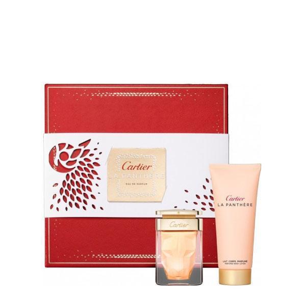 Set Apă de parfum 50ml + Loțiune de corp Cartier La Panthere 100ml imagine produs