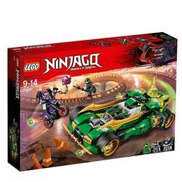 LEGO Ninjago - Vierme de noapte ninja 70641 pentru 9-14 ani