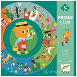 Puzzle cicular Djeco, anotimpurile