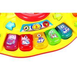 Jucarie interactiva MalPlay Micul sofer, volan cu sunete si lumini pentru copii
