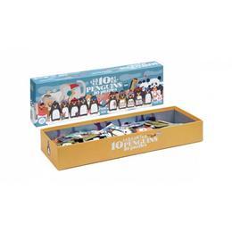 Puzzle progresiv 1,2,3..10 pinguini Londji