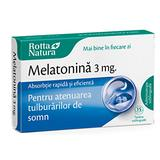 Melatonina 3mg Rotta Natura, 15 tablete sublinguale
