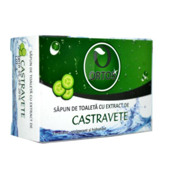 Sapun cu Extract de Castravete Ortos Prod, 100 g imagine produs