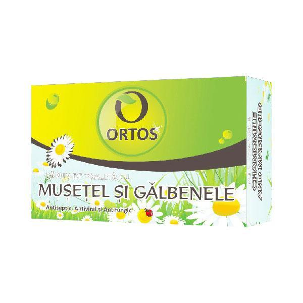 Sapun cu Musetel su Galbenele Ortos Prod, 100 g esteto.ro