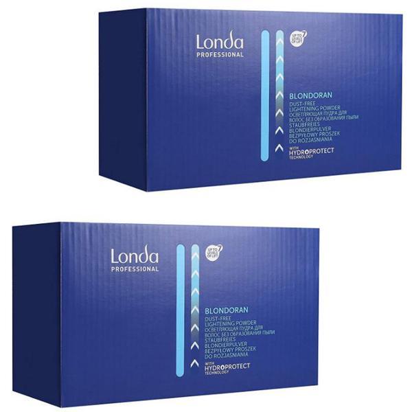 Pachet 2 x Pudra Decoloranta - Londa Professional Blondoran Dust-Free Lightening Powder, 2 x 500g poza