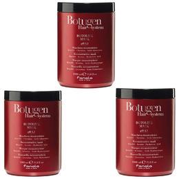 Pachet 3 X Masca Reconstructoare Pentru Par Deteriorat - Fanola Botugen Hair System Botolife Reconstructive Mask, 1000ml
