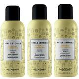 Pachet 3 x Spray pentru Protectie Termica - Alfaparf Milano Style Stories Thermal Protector, 200ml
