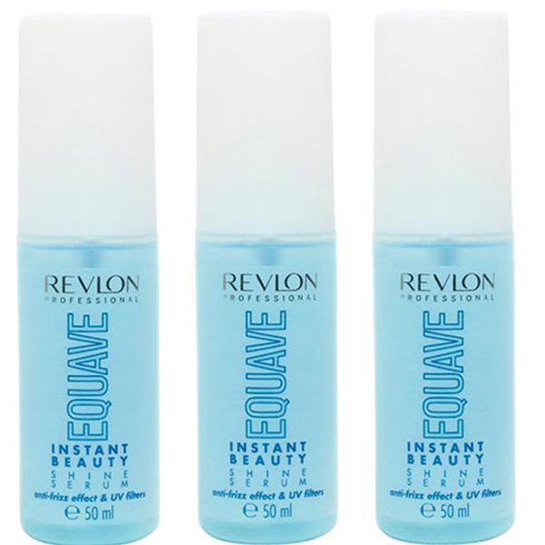 Pachet 3 x Ser de Styling - Revlon Professional Equave Instant Beauty Shine Serum 50 ml imagine produs