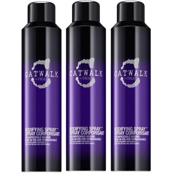 Pachet 3 x Spray pentru Volum - TIGI Catwalk Bodifying Spray 240 ml imagine produs
