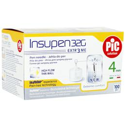 Ace Sterile Insulina 33g x 4mm Pic Artsana, 100 buc