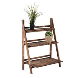 Suport plante, din lemn de brad, 80 x 37 x 93cm - Caerus Capital