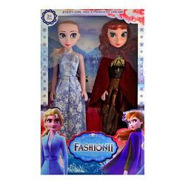 Set papusi Anna, Elsa 42 cm canta