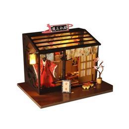 Joc interactiv, macheta casuta de asamblat, miniatura, cadou zi de nastere, aniversare, DIY, Kimono shop