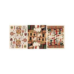 Set 12 Prosoape de Bucatarie 50 x 70 cm, din Bumbac, model Fagure