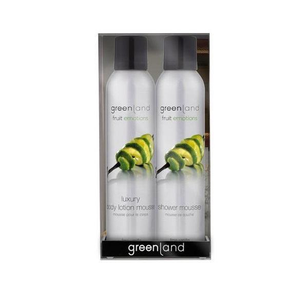Set cadou Fruit Emotions Lamaie - Vanilie,gel de dus 200ml + spray corp 200ml, Greenland esteto.ro