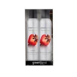 Set cadou Fruit Emotions Capsuni-Anason, gel de dus 200ml + spray corp 200ml, Greenland