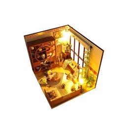 Joc interactiv, macheta casuta de asamblat, miniatura, cadou zi de nastere, aniversare, DIY, O zi in Japonia