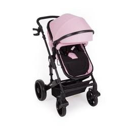 Carucior transformabil 2 in 1 Darling Pink Black Ribbon