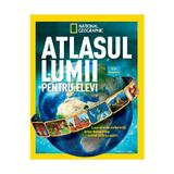 Atlasul lumii pentru elevi - National Geographic, editura Litera