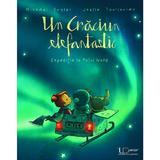 Un Craciun elefantastic. Expeditie la Polul Nord - Michael Engler, Joelle Tourlonias, editura Univers Enciclopedic