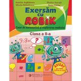 Matematica - Clasa 2 - Caiet . Exersam cu Robik - Aurelia Arghirescu, editura Carminis
