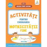 Rezolv fara ajutor: Activitati pentru exersarea motricitatii fine 3-5 ani, editura Gama