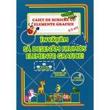 Caiet de scriere cu elemente grafice - Florina Mariana Jugaru, editura Omnibooks Unlimited