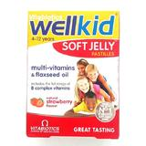 Wellkid Soft Jelly cu Capsune Vitabiotics LTD, 30 jeleuri