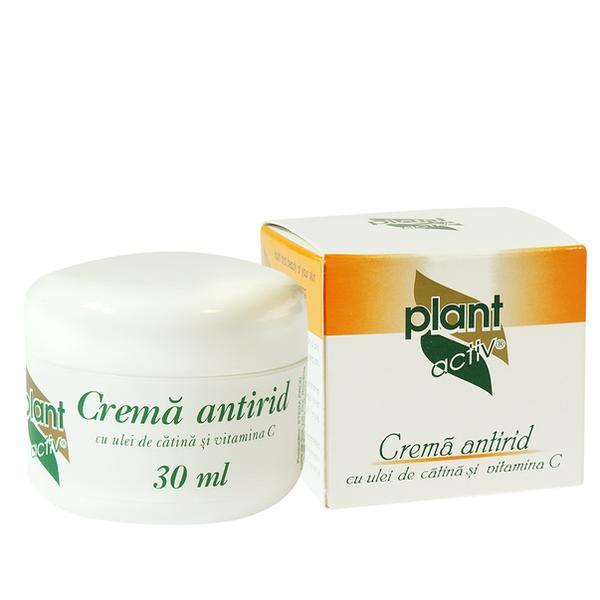 Crema Antirid cu Catina si Vitamina C Plant Activ, 30 g imagine produs