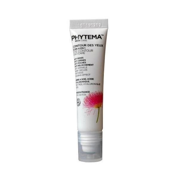 Contur ochi 4in1 anti-cearcane anti-rid anti pungi sub ochi si lifting, Phytema 15ml imagine produs