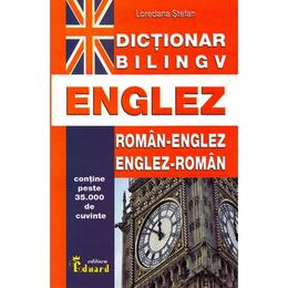 Dictionar bilingv englez roman