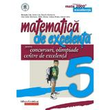 matematica de excelenta cls 5 pentru concursuri, olimpiade si centre de excelenta ed.2 - maranda lin