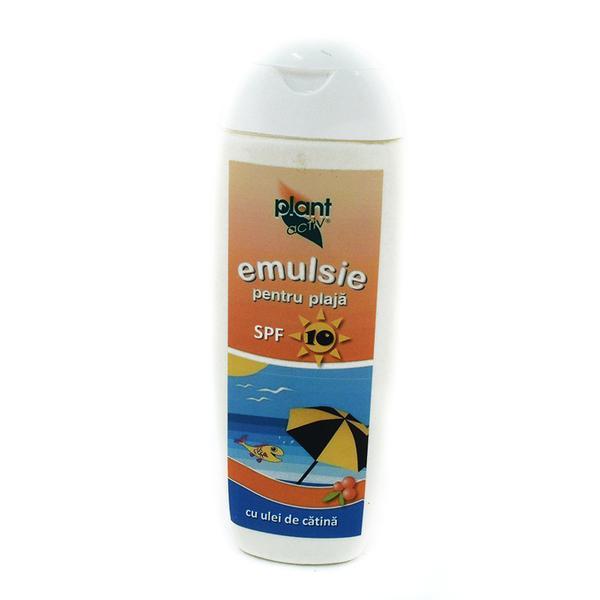 Emulsie SPF 15 pt Plaja cu Ulei de Catina Plant Activ, 200 ml imagine produs