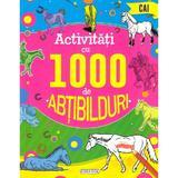 Activitati cu 1000 de abtibilduri: cai