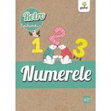 Numerele. Retro flashcarduri, editura Gama