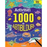 Activitati cu 1000 de abtibilduri: animale marine